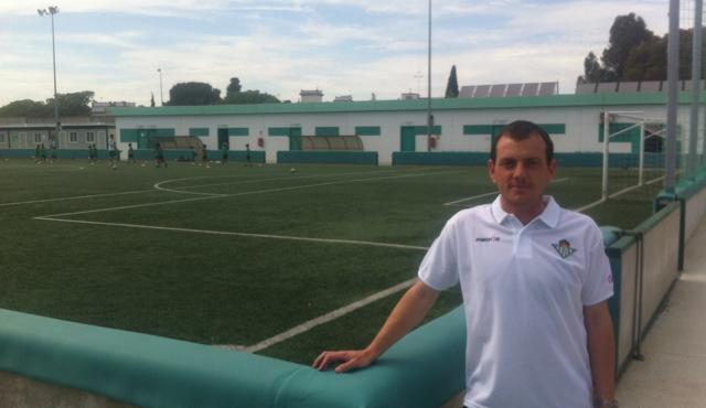 Alberto González, nuevo responsable de captación y formación / Real Betis