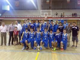 El equipo cadete del Cajasol.
