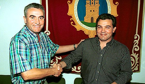 Imagen de archivo de Diego Cañamero (i) y José Antonio Núñez. / Javier Díaz