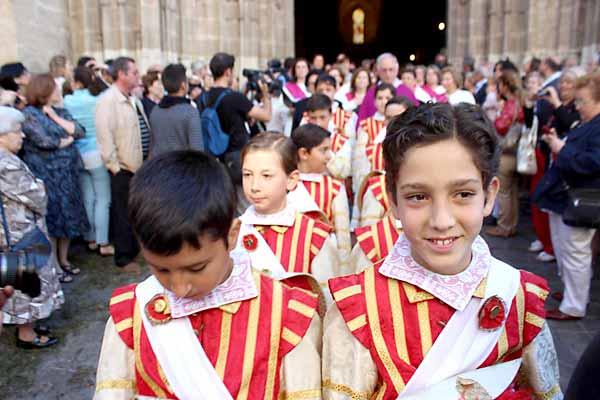 Procesión del Corpus en Sevilla. / Foto: José Carlos Cruz (Atese)