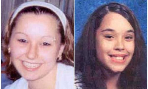Dos de las tres mujeres desaparecidas hace diez años en EEUU.