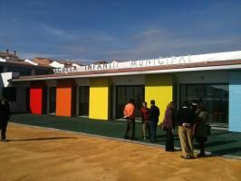 La nueva guardería de Aznalcóllar que no se ha podido inaugurar.