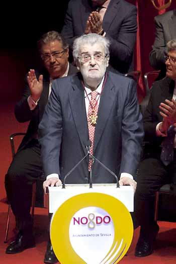 José Manuel Lara, durante su discurso. / J. M. Espino (Atese)