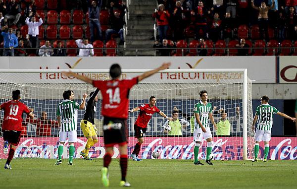 Mallorca - Betis. / Foto: Tooru Shimada (Marcamedia)