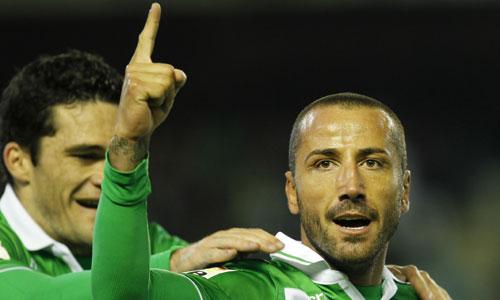 Mario, celebrando un gol (Marcamedia).