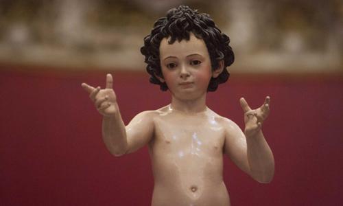 El Niño Jesús del Sagrario saldrá recién restaurado este Corpus