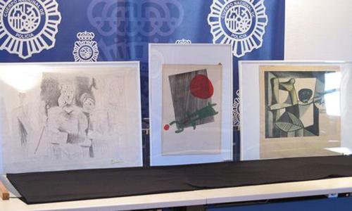 pinturas robadas