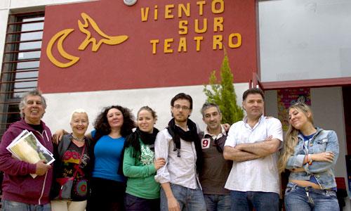 Presentación del Teatro-Escuela Viento Sur Teatro, que inaugura su sede en el Tardón.