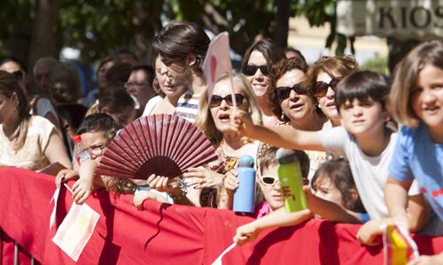 El príncipe Naruhito ha visitado Sevilla este 16 de junio. / J.M.Paisano (ATESE)