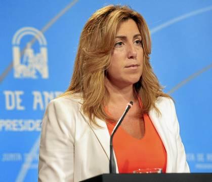 La consejera de la Presidencia, Susana Díaz.