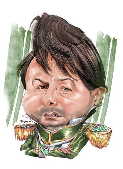 Vlada Stosic. Caricatura de Pandelet.