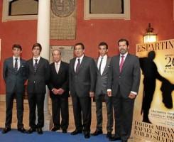 El evento taurino con fines benéficos a favor de Asedowen fue presentado en la Fundación Cajasol.