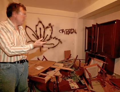 destrozos casa