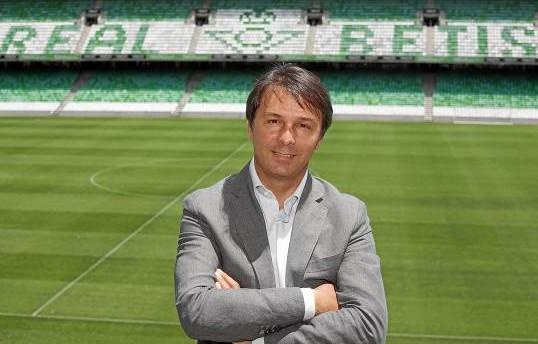 El director deportivo del Betis, Vlada Stosic.