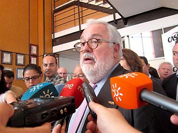 El ministro Arias Cañete.