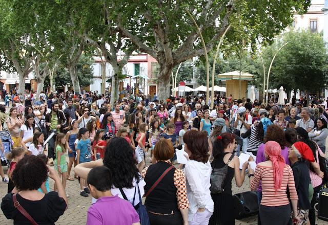 Protesta en la Alameda. Foto: La mirada revoltosa.