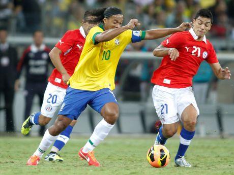 Con Ronaldinho