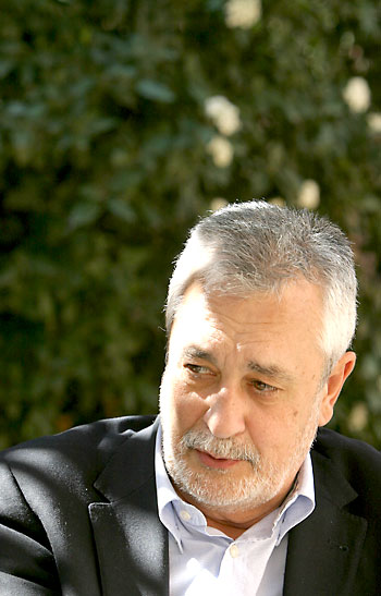 José Antonio Griñán. / Foto: Rodríguez Aparicio