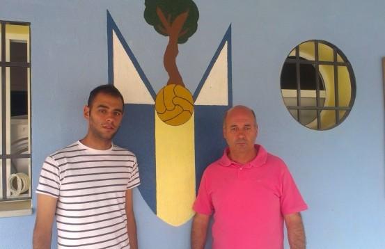 Pablo y Antonio Godínez, coordinador y presidente
