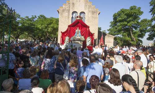 Peregrinación de la Virgen de Valme en el 40 aniversario de su coronación canónica. / J.M. Paisano (ATESE)