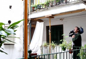 Imagen de un desahucio en Sevilla capital