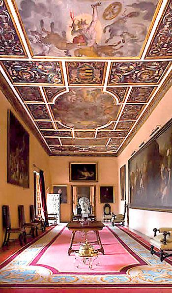 Las pinturas son un ejemplo único del arte del siglo XVII.