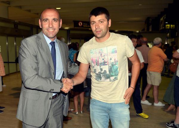 Rusescu, en Sevilla (Marcamedia)
