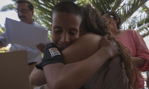 Llegan a Sevilla 305 niños saharauis gracias al programa 'Vacaciones en paz'. Manu R.R. (Atese)