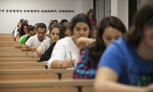 Los alumnos de Sevilla han comenzado su prueba de Selectividad. / J.M. Espino (ATESE)