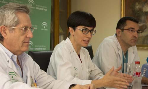 La coordinadora de trasplantes del hospital Virgen del  Rocío.