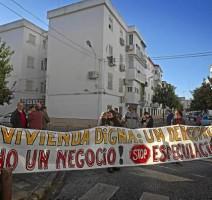 En Andalucía se producen 45 desahucios al día