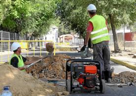 La calle de la Fuente estará cortada las próximas semanas.