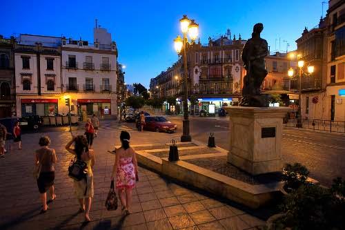 Plaza del Altozano, para la que se plantean importantes cambios. / Paco Cazalla