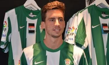 Vincenzo Renella, con la camiseta del Córdoba / otrocordoba.es