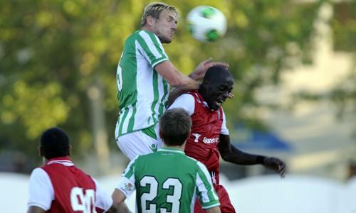 Perquis, en el amistoso con el Sporting de Braga / Marcamedia