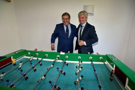 Juan Ignacio Zoido y Miguel Guillén, juntos / Marcamedia