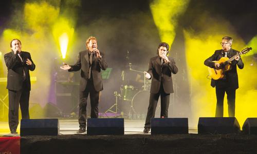 Ecos del Rocío reaparecieron en un concierto en Espartinas. / J.M. Espino (Atese)