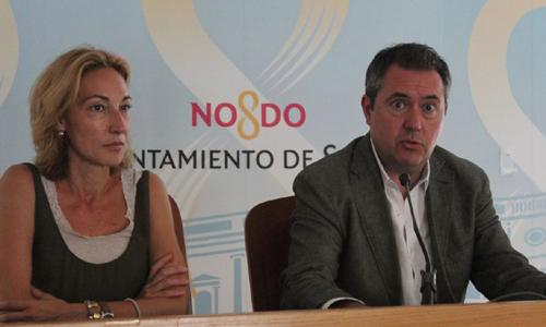 Espadas y López, en rueda de prensa.