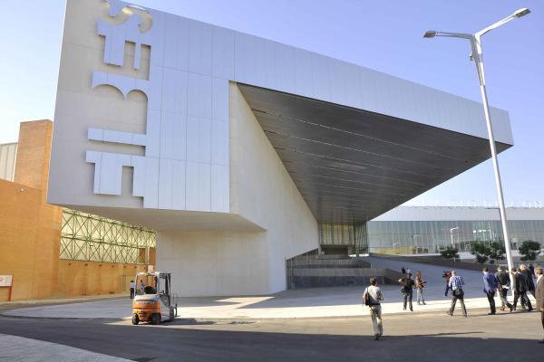 Sevilla 11 09 2012 Nuevo Palacio de congreso de Fibes en Sevilla  FO
