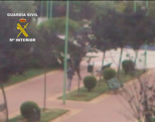 Fotograma del vídeo aportado por un vecino. Foto: Guardia Civil