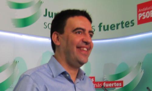 El vicesecretario general del PSOE-A, Mario Jiménez. E.P.