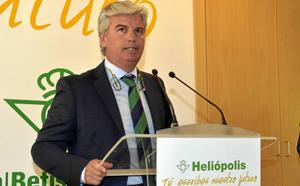 El presidente del Betis, Miguel Guillén.