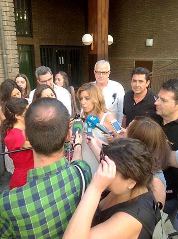 La consejera de Presidencia y candidata a las primarias del PSOE-A, Susana Díaz. / E.P.