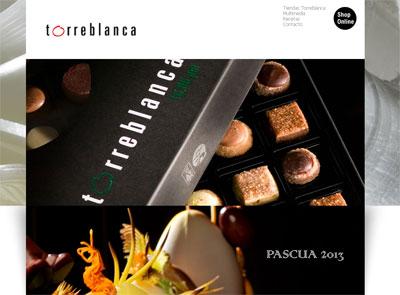 Web de los productos Torreblanca.