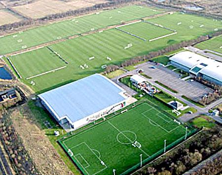 Este es el impresionante Aon Training Centre del United.