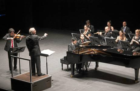 Concierto del Diván en el Teatro Central. Foto: J.M. Espino