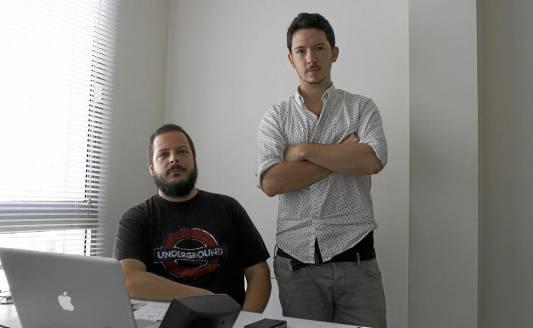 Miquel Peris y su socio Alberto Cañizares.- Manuel R.R.
