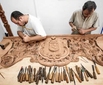 Sevilla 16 08 2013: Artesanos de Arte Sacro en nuevo torneoFOTO:J.M.PAISANO