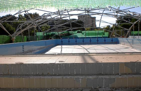 Estado de la piscina de San Pablo.