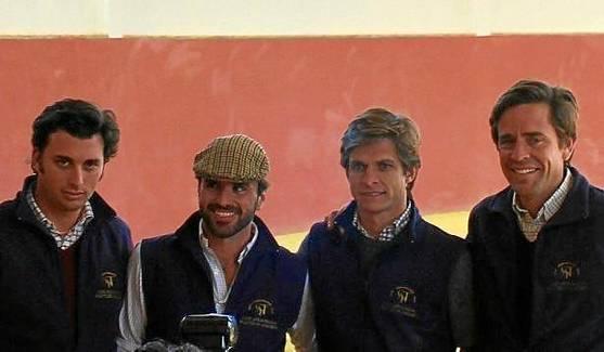 Rafael Peralta, Ignacio Moreno de Terry, Julián López El Juli y Eduardo Dávila Miura.